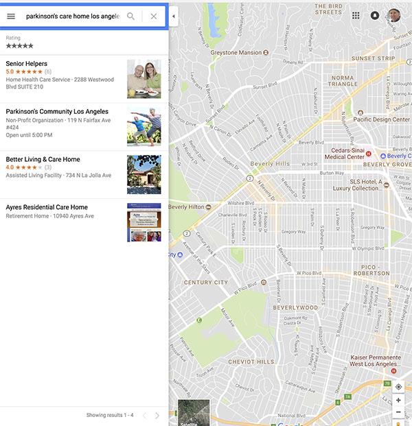 PD City map