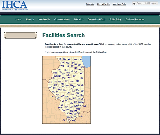 Facilities Search Illinois