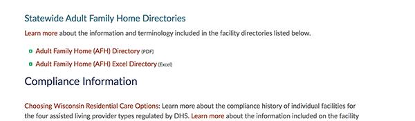 Cost Info Facilities