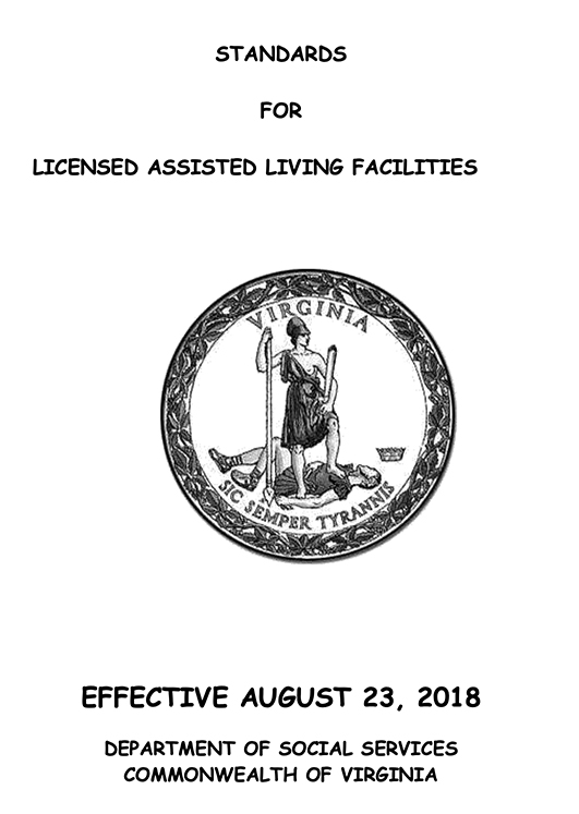 Assisted Living Regulations for Virginia