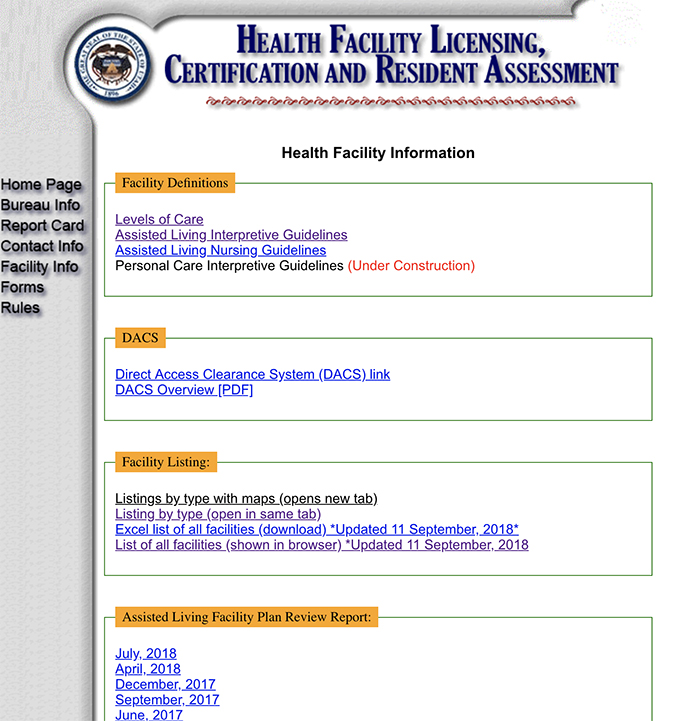 Health Facility Licensing