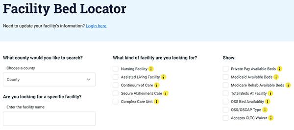 GetCareSC Facility Locator