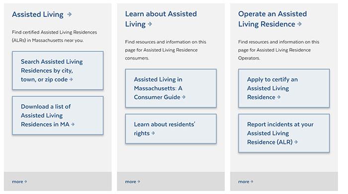 Massachusetts Assisted Living
