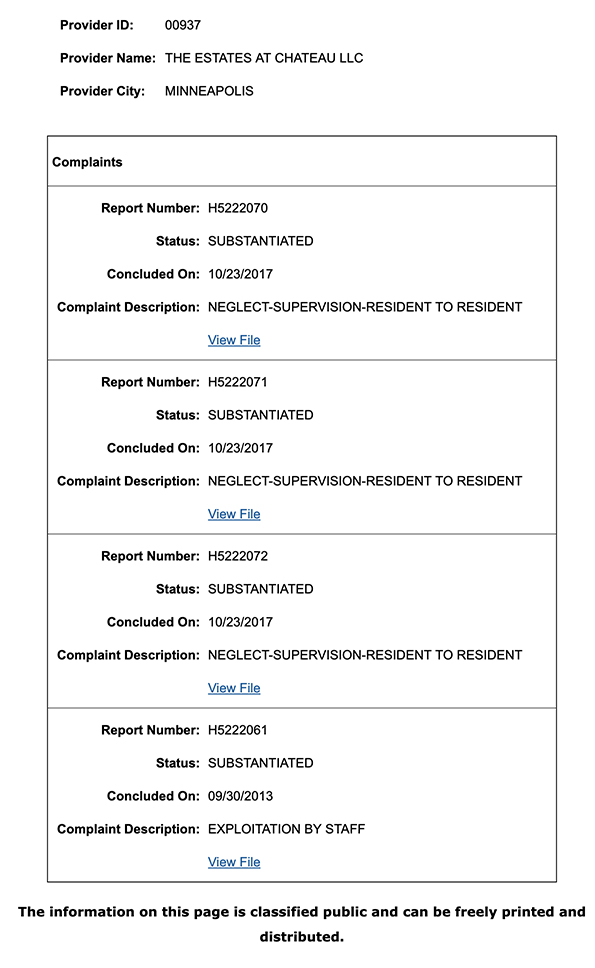 Complaint Details