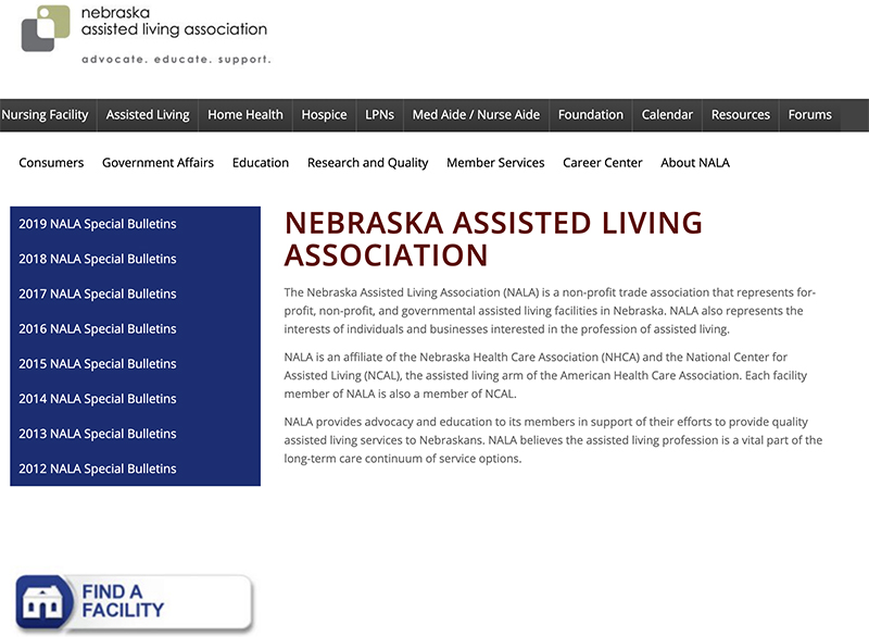 Nebraska Assisted Living Association